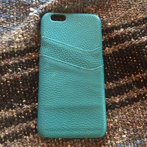 Accessories - iphone 6/6s Teal Case
